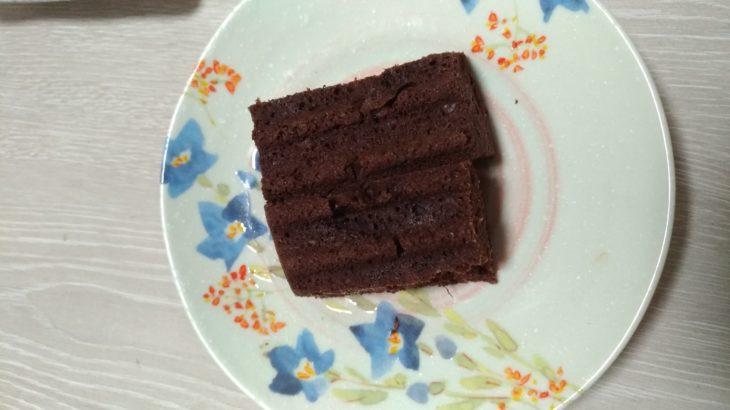 【糖質2.6g】おからガトーショコラ風